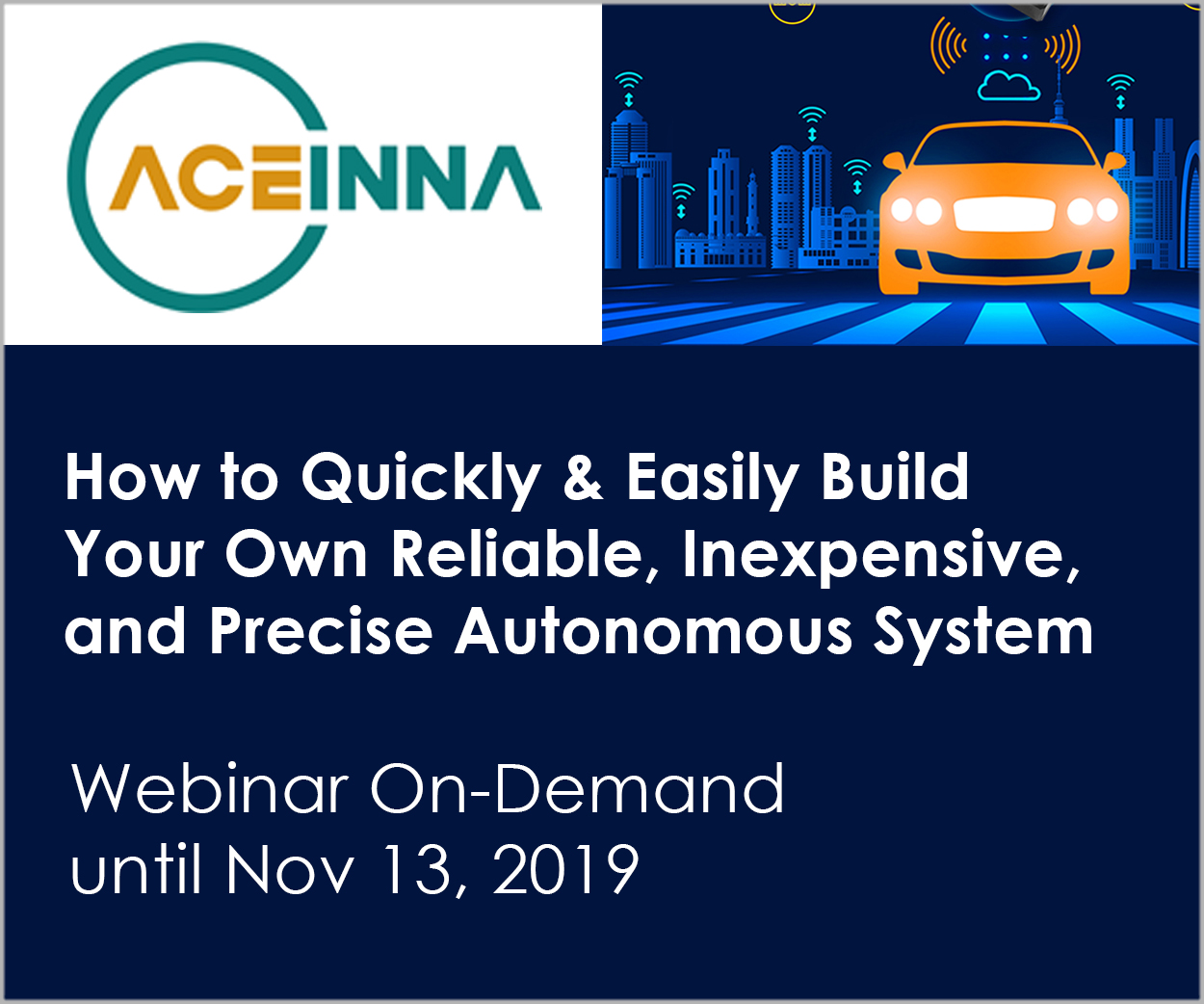 Aceinna Teams Up With Ieee For A Special Webinar For Developers Of Drones Robots And Agvs What S New In Electronics
