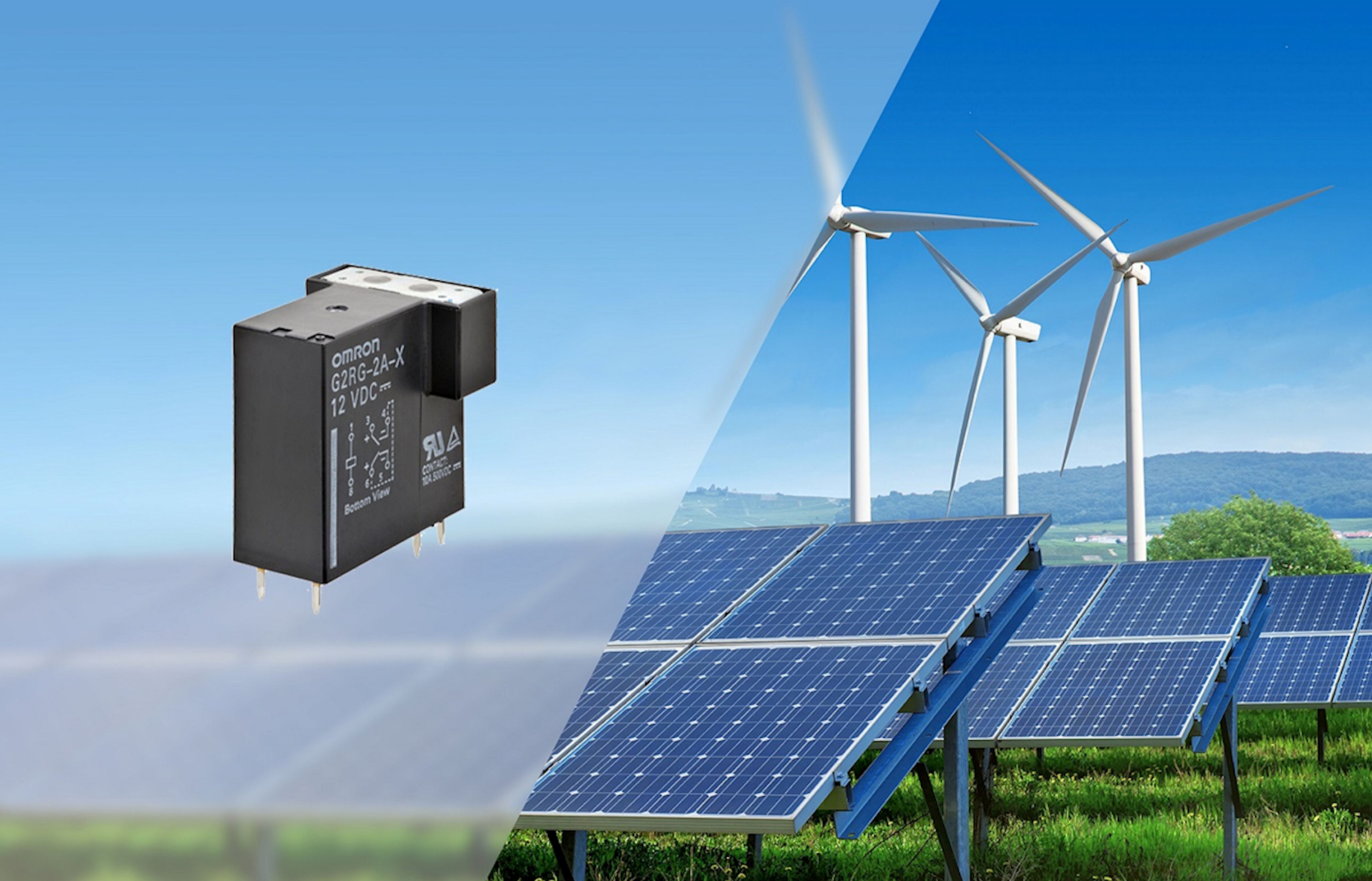 OMRON unveils compact 500VDC relay for charging circuits